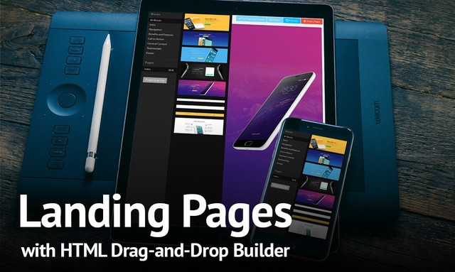 Create and Customize Landing Pages in 30 Minutes With HTML Builder Templates
