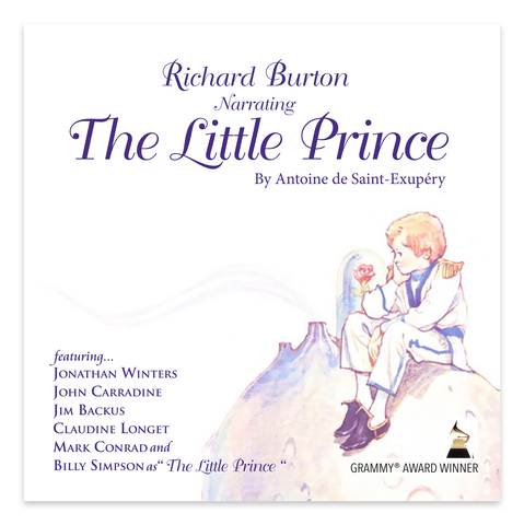 """""""The Little Prince"""" Grammy Award winner """"Best Children's Recording"""" narrated by Richard Burton now available on iTunes"""