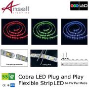 Low voltage LED lighting.
