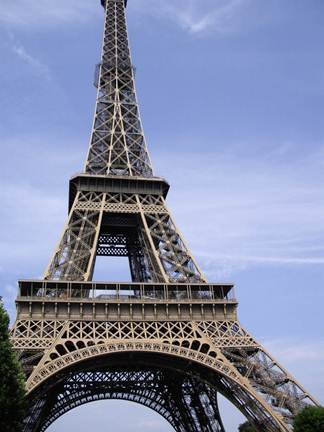 Eiffel Tower in Paris, France, one of many sights visited by Left Bank Writers Retreat participants