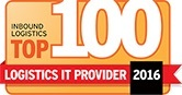 Top 100 Logistics IT Award From Inbound Logistics Magazine