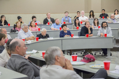 People in attendance for Armenian Genocide lecture