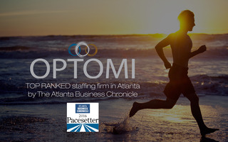 Optomi Ranks #16 of the Top 100 Fastest Growing Companies in Atlanta