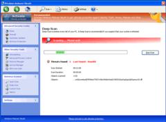 Windows Malware Sleuth's deep scan