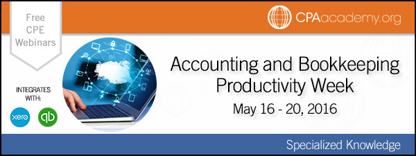 Accounting and Bookkeeping Productivity Week