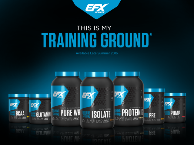 The All New Training Ground Series From EFX Sports
