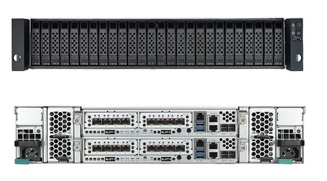XCubeSAN XS5226-D, the world's first high density 26bays 2U enterprise SAN storage