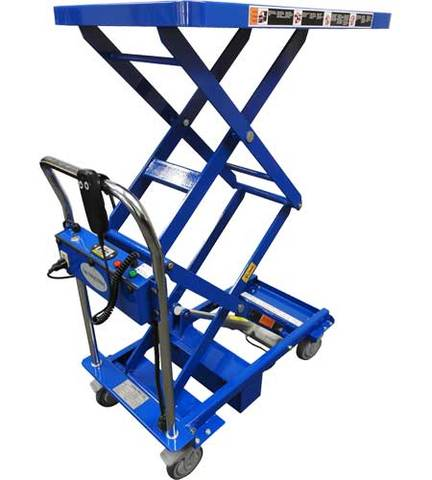 MMLA-150D Linear Actuated Lift Cart