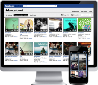 ConcertCrowd Selected as Finalist for SXSW Accelerator, Launches New HTML5 Mobile Web App