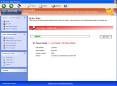 Windows Risk Minimizer's fake online scanner