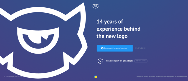 TemplateMonster has changed its logo and restructured its business