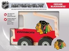 """MasterPieces' Chicago Blackhawks Push & Play """"Zamboni-shaped"""" toy"""