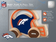 "MasterPieces' Denver Broncos Push & Pull ""helmet-shaped"" toy"