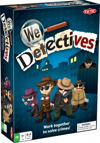 We Detectives, the new board game from Tactic Games