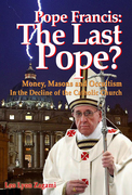 """Last Pope"" book cover"
