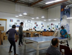 The Visual Arts Studio on-site at Sober College