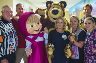 Children's Hospital Patients Get Surprise Celebrity Visits & Bears