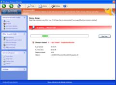 Windows Process Director pretends to do a deep system scan