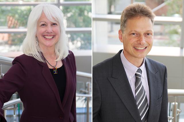Professor Susan Bisom-Rapp and Professor Aaron Schwabach
