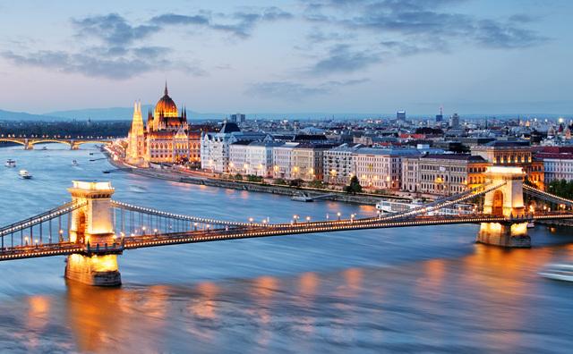 Hungary's beautiful capital, Budapest