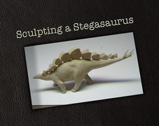 Sculpting a Stegosaurus