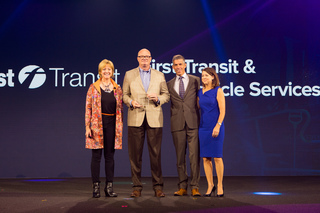 First Transit Wins the 2016 Excellence in Action Award from Infor