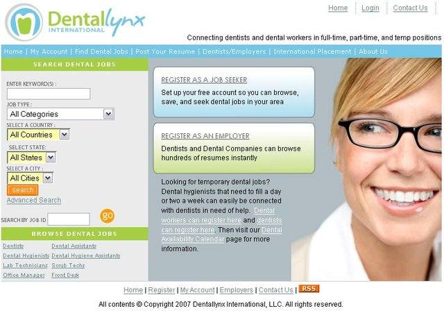Dentallynx International Home Page