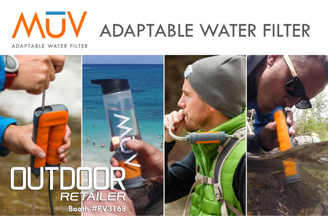 MUV unveiled at Outdoor Retailer.