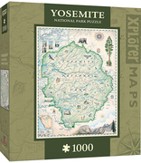 MasterPieces Yosemite Xplorer Maps Jigsaw Puzzle