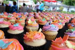 Hand decorated cupcakes make the celebration all the sweeter at the Abbotsford Retirement Home.