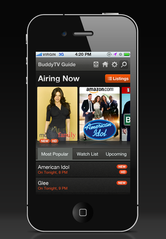 BuddyTV Guide app users can personalize their channel guide by picking favorites, seeing recommendations, creating episode alerts and even changing the channel on their smart device.