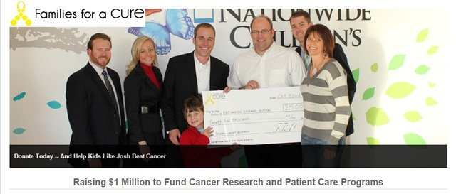 Families for a Cure is a nonprofit working to raise $1 Million to fund cancer research and patient care programs
