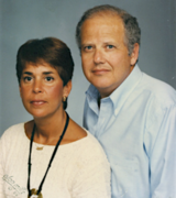 Malcolm and Joyce Friedman, parents of Eric and Hal Friedman, serve as inspiration for Families for a Cure. Eric Friedman co-founded the nonprofit with Pat Puhl in 2009.