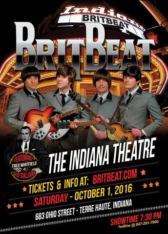 BritBeat at the Indiana Theatre