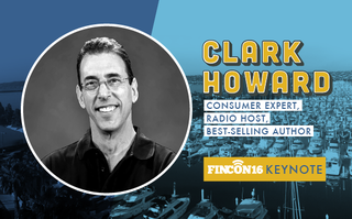 Consumer Champion Clark Howard to Address #FinCon16, the Largest Collection of Personal Finance Nerds Ever Assembled