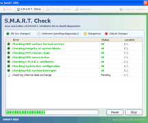 S.M.A.R.T. Check and S.M.A.R.T. Repair are features of Smart HDD