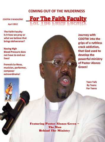 The Man Behind The Ministry April 2012