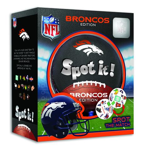 Spot it! Denver Broncos edition