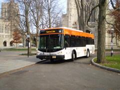 Princeton University TigerTransit bus