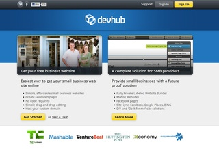 DevHub's turn-key platform allows Small/ Medium business providers to offer managed websites, Facebook pages, mobil…