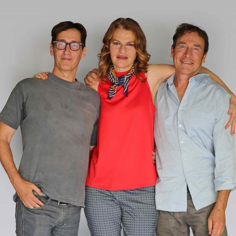 Stan Zimmerman, Sandra Bernhard, James Berg.  photo credit J. Nathalie Taylor