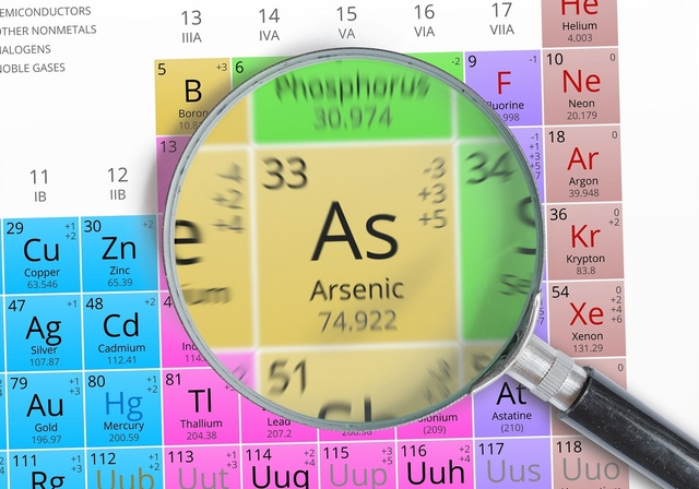 Long term effects of arsenic exposure include bladder, skin and lung cancer, diabetes, pulmonary and cardiovascular disease, and other serious health problems.