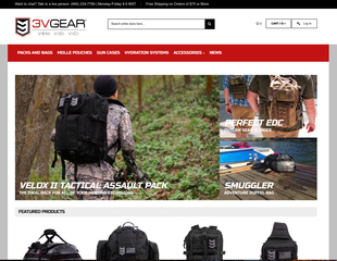 3V Gear launches new website and blog