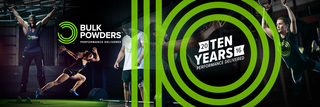 BULK POWDERS™, the UK Sports Nutrition brand, celebrates 10 years strong