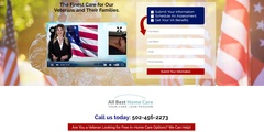 The Veteran's Portal on the new All Best Home Care website has all the information you need to get the finest care for you or your loved one who has served in the military.