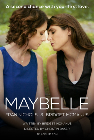 Maybelle Poster with Fran Nichols and Bridget McManus