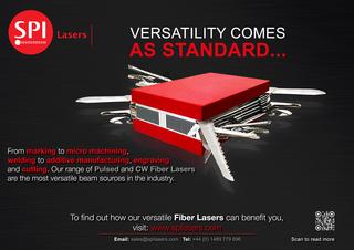 SPI Lasers Explain the Versatility of Their Fiber Lasers Range