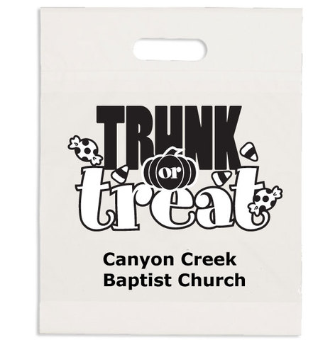 Trunk or Treat Bags are available at Bagwell Promotions