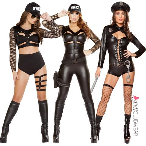 Sexy Swat Halloween Costumes
