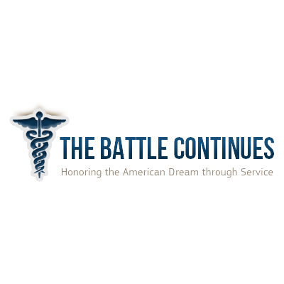 The Battle Continues logo